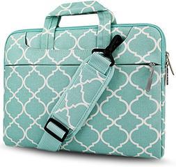 HSEOK Laptop Shoulder Bag / Sleeve Briefcase, Quatrefoil Sty