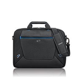 Solo Soar 16 Inch Laptop Slim Brief, Black