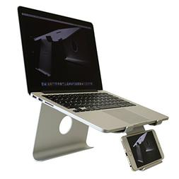 DiiZiGN DiiZiGN THE BEST Laptop Stand with Smart Phone Holde