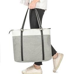 Laptop Tote Bag, GRM Canvas Shoulder Bag, Carrying Handbag f