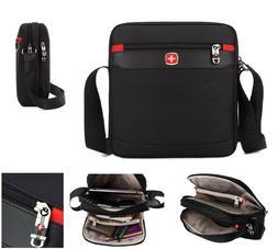 Large Business Shoulder Briefcase Backpack Laptop Classic St