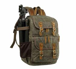 Large Camera Bag Waterproof Photography Laptop Backpack Outd
