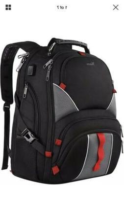 Mancro Large Laptop Backpack High Capacity TSA Durable Lugga
