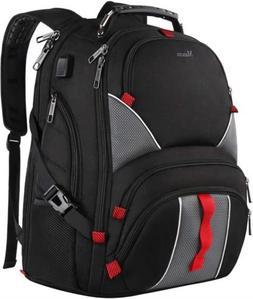 large laptop backpack high capacity tsa durable