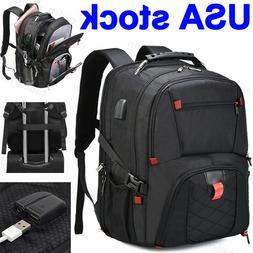 Large Waterproof Travel Bag Laptop Backpack Notebook School