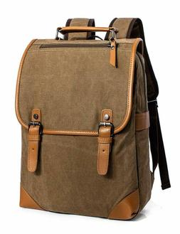 Leaper Cute Laptop Backpack For Kids Canvas Backpack Girls D