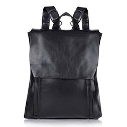 Vbiger Leather Backpack Cute Fashion Handbags Vintage Bags F