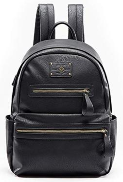 Backpack Women by Miss Fong, Leather Backpack for Women, Lap
