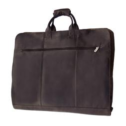 Piel Leather Garment Cover - Chocolate