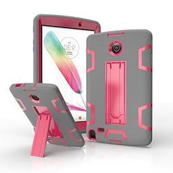 LG G Pad F 8.0 / G Pad II 8.0 Case, Jeccy Dual layer Full-bo