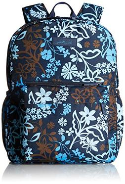 Vera Bradley Lighten Up Grande Laptop Backpack, Java Floral,