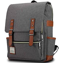 Bagerly Lightweight Outdoor Travel Bag Canvas Laptop Backpac