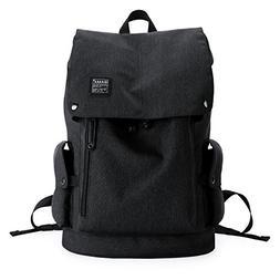KAKA Lightweight Canvas Backpack Shoulder Daypack for 15.6-I