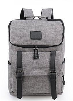 """Weekend Shopper 15.6"""" Laptop Backpack Vintage Backpack Colle"""