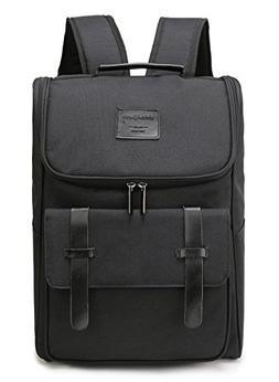 Weekend Shopper Lightweight Genuine Leather Travel Backpack