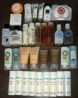 Lot 33 Hotel Travel Toiletries Shampoo Conditioner Lotion Ba