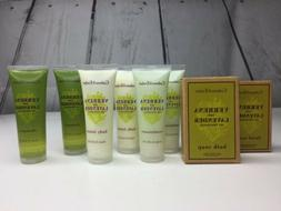 LOT OF 8 CRABTREE & EVELYN TRAVEL SIZE TOILETRIES - SHAMPOO,