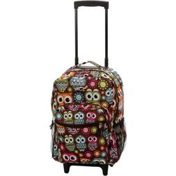 "Rockland Luggage Roadster 17"" Rolling Backpack"