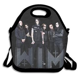 DSYBTV Lunch Bag Motionless In White Band Lunch Tote Lunch B