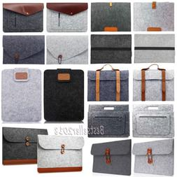 "For MacBook Air Pro 11"" 13"" 15"" Woolen Envelope Laptop Bag C"