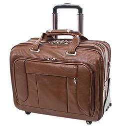 "McKlein USA West Town Checkpoint 17"" Wheeled Laptop Case,19."