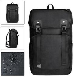 Men 15.6 inch Laptop USB Backpack Waterproof Travel School C