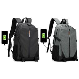 men backpack laptop water resistant anti theft
