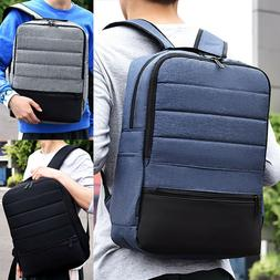 Men Backpack School Bag Laptop Business Satchel Casual Rucks