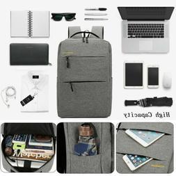 Men Fashion Business Laptop Sleeve Case Waterproof Backpack