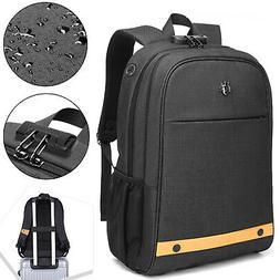 Men Laptop Backpack Anti Theft Waterproof Business School Sh