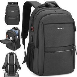 Men Laptop Backpack Waterproof USB Large Travel School Rucks