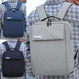 men oxford cloth laptop backpack business school