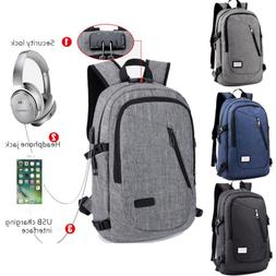 Men's And Women's Anti-theft Laptop Backpack USB Charging Wo
