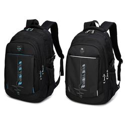 Men's Backpack Rucksack Laptop Shoulder Travel Sport Hiking
