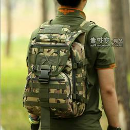 Men's Backpack Tactical Military Laptop Rucksack Outdoor Tra