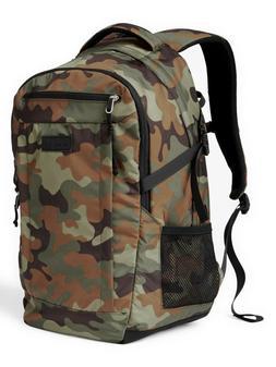 Men's Gap Nylon Double Compartment Travel Laptop Backpack Bo