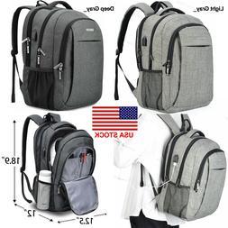 Men's Women's Outdoor Travel Laptop Backpack Bag Waterproof