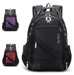 "Men's Travel Rucksack Notebook 15.6"" Laptop Backpack Hiking"