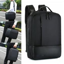 Men Waterproof 15.6 Laptop USB Backpack School Briefcase Sho