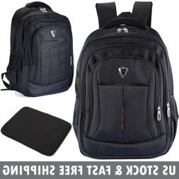 Men Women 17 inch Laptop Notebook Backpack Waterproof  Trave