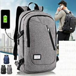 Men Women Laptop Backpack Rucksack Work Travel School Bags A