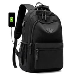 Men Women Waterproof Backpack Laptop Travel School Bag With