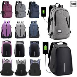 mens anti theft travel laptop backpack rucksack