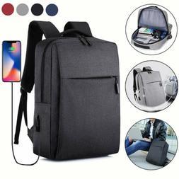 Mens Backpack Laptop Notebook Business Travel School Bag Wom