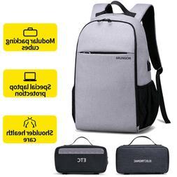 """Mens Laptop Backpack Waterproof 15.6"""" Travel School Shoulder"""