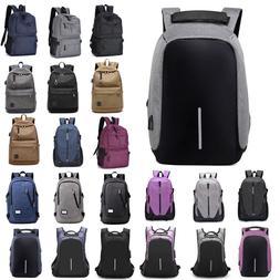 Mens Unisex Backpack Rucksack Travel Laptop School Bags With