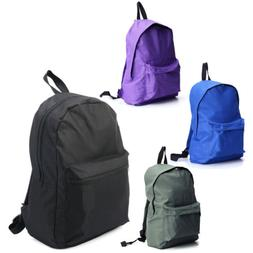 Mens Womens Canvas Backpack Casual Travel Hiking Laptop Bag