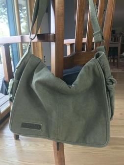Dakine Messenger Bag, NWOT, distressed, camouflage /olive gr