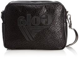 GOLA MESSENGER BAG REDFORD CUB781 METALLIC GEO BLACK