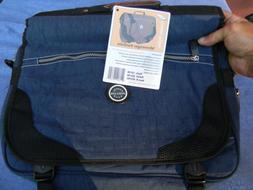 OVERLAND TRAVEL GEAR Messenger Portfolio Laptop Book Backpac